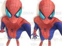(SM1063) alta calidad de lujo personalizado los increíbles trajes de Spiderman Zentai con el único disfraz de Halloween con material de actualización