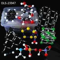 947 Unid modelo molecular dls-23947 gran conjunto inorgánicos/orgánico molecular Kit de modelado para la universidad Química profesor con caja