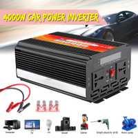 8000 W inversor de la energía del coche de 12/24 V a 110/220 V onda sinusoidal convertidor con fusibles de cuchilla d.11