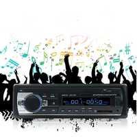 APRICOTCAR-31 coche radio mp3FM reproductor compatible con Bluetooth manos libres teléfono FM sin pérdida música radio coche audio coche CD máquina