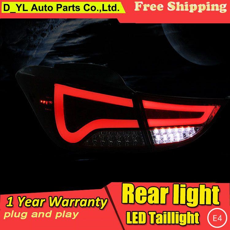 GTD US $300.00 D-YL Car Styling Accessories for Hyundai Elantra Avante LED Taillights 12-15 ElantraTail Light Rear Lamp DRL+Brake+Park+Signal