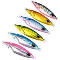 6 piezas 180g/11,5 cm plantillas de mariposa de Metal Artificial cuchillo plantillas cebo atún pargo pez rey lento señuelos de agua salada de agua dulce