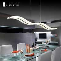 Acrylique Moderne Led Pendentif Lumière Pour Salle À Manger Salon Cuisine Luminaires 38 w Led Pendentif Lampe Lampe Suspendue Lumière appareils