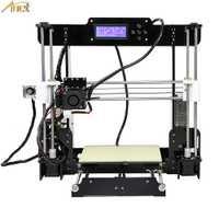 Anet A8 Normal de Auto nivelación de A8 3d impresora boquilla de 0,4mm impresora 3d Reprap Prusa i3 3D kit de impresora DIY withPLA de filamento
