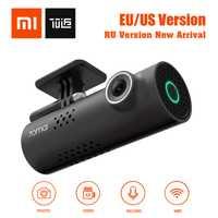 ¡En Stock! XiaoMi 70Mai 70 Minutos Smart Car DVR RU/ EU / US Versión 1080p Inalámbrico Dash Cam 130 Grados Gran Angular IMX323 Voice Control