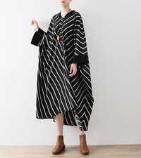 2017 tamaño grande más las mujeres del tamaño que arropan 5xl 6xl 7xl negro Vestidos para mujeres Batwing mangas sueltas vendimia vestidos