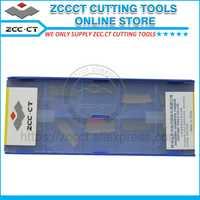 ZCC herramientas de torneado ZTBD02002-MM y ZPGD0402-MG de despedida y inserto ranurado torno de corte Hoja 1 paquete