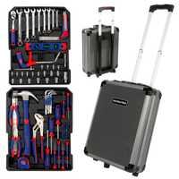 WORKPRO 111 PC caso de la herramienta de aluminio caja de Casa Kits de herramienta