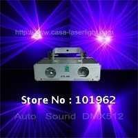 200 MW láser violeta etapa luces DJ disco de luz láser mostrar Sistema de Visualización del laser