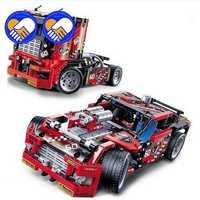 Un jouet un rêve 608 pièces voiture de camion de course 2 en 1 Transformable modèle blocs de construction ensembles Decool 3360 bricolage jouets Compatible Technic 42041