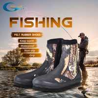 YONSUB 5 MM Néoprène Plongée Bottes résistant à l'usure En Amont Chaussures Non-slip chaussures de pêche Camouflage Garder L'eau Chaude chaussures de sport