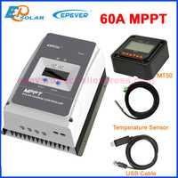 EPEVER 60A regulador controlador de carga Solar MPPT 12 V 24 V 36 V 48 V DC max PV Voc 150 V 200 V de entrada Tracer6415AN Tracer6420AN