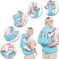 Multifunción bebé Anti-Niño Perdido mochila niños Hip asiento recién nacidos canguro del abrigo con el pañal bolsa de carga 2018