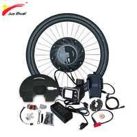 IMortor bicicleta eléctrica Kit de conversión con batería ebike Motor de cubo de rueda de controlador de Motor para bicicleta E bicicleta Kit de conversión
