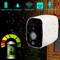 Cámara IP inalámbrica DAYTECH con batería 1080 p WiFi 2MP HD cámara de vigilancia impermeable CCTV Interior Exterior IR grabación de Audio