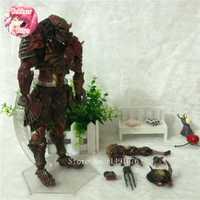 Juegos de anime película Aliens Vs Predator Requiem variante figuras de acción figuras Juguetes modelo jugar artes Kai muñeca brinquedos
