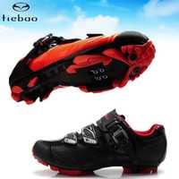Tiebao ciclismo zapatos sapatilha ciclismo MTB 2019 zapatos de bicicleta de montaña al aire libre profesional de las mujeres zapatillas de deporte hombres bicicleta zapatos