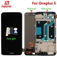 Oneplus 5 pantalla LCD + digitalizador de pantalla táctil de la Asamblea reemplazo para uno más cinco, 5,5 pulgadas 6 GB 8 GB RAM