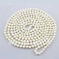 ¡Envío Gratis! Popular collar de perlas blancas de agua dulce de 6-7 MM Longitud de 90