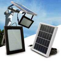 150 LED energía Solar Sensor de luz de inundación movimiento activado al aire libre jardín camino lámpara Solar