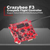 Crazybee pequeño Betaflight F3 controlador de vuelo con Flysky receptor/Blheli_S CES/OSD/medidor de corriente para RC Whoop las carreras de aviones no tripulados