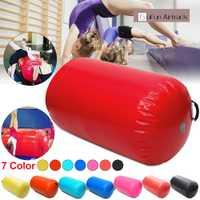 35.49x41.39 pouces 105x90 cm gonflable gymnastique Air rouleaux faisceau Yoga gymnastique cylindre Airtrack exercice