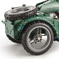La II Guerra Mundial de la motocicleta técnica militar Control remoto RC Legoings bloque de construcción técnica de la serie para el regalo de los niños