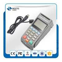USB/RS232 interfaz opcional en ATM cifrado Pasadores pago pad máquina con MSR z90pd
