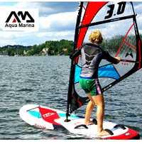 AQUA MARINA campeón windsurf surf paddler barco surf wind surf vela sistema entero