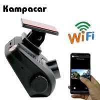 Kampacar 2 pulgadas coche Mini cámara Dvr Auto Dash Cam Full HD 1080 p Automovil registrador grabadora de Video Digital Wifi dashcam dvr