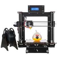 2018 más reciente oyfame 3D impresora DIY Kit impresora 3D impresora y 4 llave hexagonal materiales Pla 1.75 blanco
