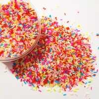 1KG breloques Addition arrose Slime remplisseur pour jouets de boue moelleuse Slime fournitures accessoires argile bricolage perles gâteau Dessert Kit