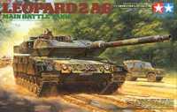 Gleagle1/35 Pantera alemán 2A6 modelo de tanque de batalla principal 35271