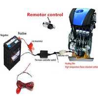 Ventilador de precalentamiento del motor del ventilador del calentador del coche para calentador de aceite del motor para cualquier estilismo del coche 12 V universal