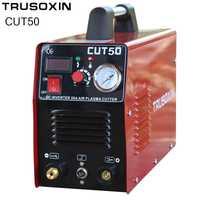 220 V de alimentación Dual 50A Mosfet inversor DC cortador de Plasma de aire máquina de corte de Plasma máquina de corte por Plasma de corte de herramientas equipos