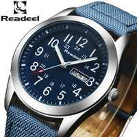 Readeel Relojes Deportivos Hombres de Marca de Lujo de Los Hombres Del Ejército Militar Relojes Reloj Masculino Reloj de Cuarzo Relogio masculino horloges mannen saat