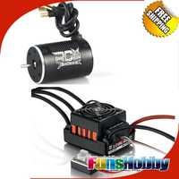 1:10 potencia Combo incl. tenshock rc906 6 Polo micro sin escobillas Motores y hobbywing quicrun WP 10bl60 brushless impermeable 60a ESC