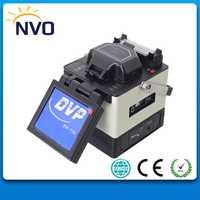 DVP750 Fusion Splicer fibra óptica fusión empalme Machine
