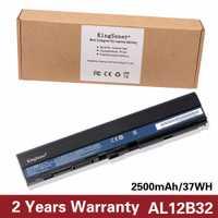 Celular japonés nuevo AL12B32 batería del ordenador portátil para Acer Aspire 725 756 V5-171 B113 B113M AL12X32 AL12A31 AL12B31 AL12B32 2500 Mah