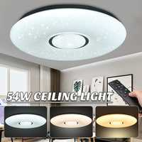 AC180-240V 54W LED lámpara de techo 2835SMD 36 bombillas Led estrella estrellas cielo 3-color regulable con control remoto inicio de iluminación