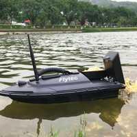 Flytec 2011-5 herramienta de pesca inteligente RC cebo barco juguetes de doble Motor buscador de peces Barco de Control remoto 500m barcos de pesca lanchas Speedboat
