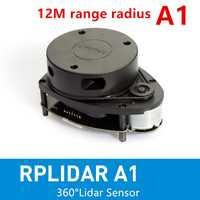 Cheltec RPLIDAR A1 2D 360 degrés 12 mètres scanner de capteur lidar de rayon de balayage pour éviter les obstacles et la navigation des robots