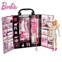 Original muñeca fantasía definitiva armario señora bebé juguetes modelo de ropa traje de princesa juguetes de regalo para chica X4833