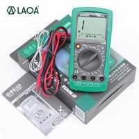 LAOA profesional multímetro de reparación de automóviles multímetro digital sobrecarga proteger coche prueba LA814104