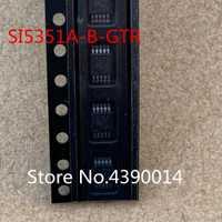100 unids/lote SI5351A SI5351A-B-GTR 5351 MSOP10