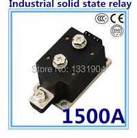 Indicador LED CC a CA SSR-H1500ZF 1500A Entrada de relé SSR DC 3-32 V salida AC1200V estado sólido industrial relé