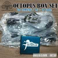 Pulpo/Octoplus caja completa activa para LG y Samsung 19 cables incluyendo optimus Cable desbloquear Flash y reparación de herramientas