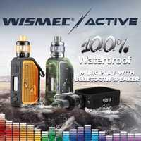 [En STOCK] Original Wismec activo con Amor NS Plus tanque 4,5 ml adopte Bluetooth impermeable mod caja electrónica cigarrillo vape kit