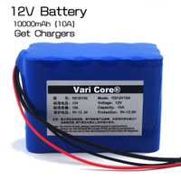 VariCore gran capacidad 12V10Ah 18650 batería de litio protección bordo 12,6 millones capacidad mA