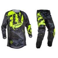 Volar pescado pantalones & pantalones Jersey Combos de Motocross MX traje de carreras de motocicleta Moto bicicleta de la suciedad MX ATV Gear Set
